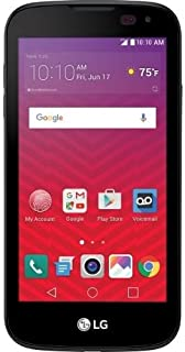 Virgin Mobile - LG K3 with 8GB Memory Prepaid Cell Phone - Black 4.5 IPS touch screen