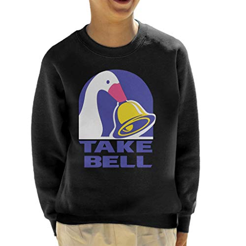 Take Bell Untitled Goose Game Kid's Sweatshirt