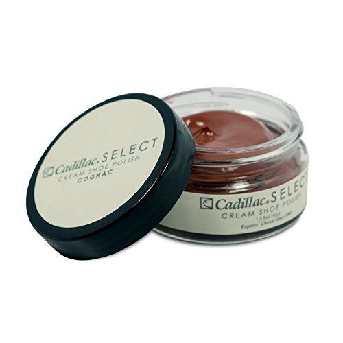 Cadillac Select Premium Cream Shoe Polish - Cognac
