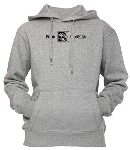 Dont Fuze The Hostage! Unisex Uomo Donna Felpa con Cappuccio Pullover Grigio Dimensioni XXL Men's Women's Hoodie Sweatshirt Grey XX-Large Size XXL