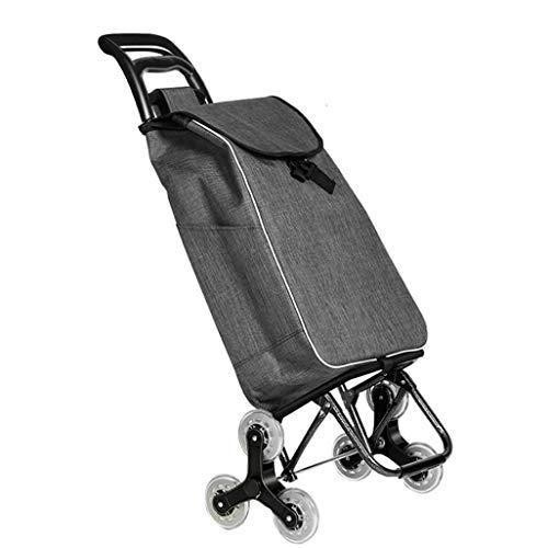 Carritos de Compras, carritos de Compras para Ancianos, carritos portátiles, cochecitos, remolques portátiles, tamaño: 35 * 20 * 55 CM.Carretilla