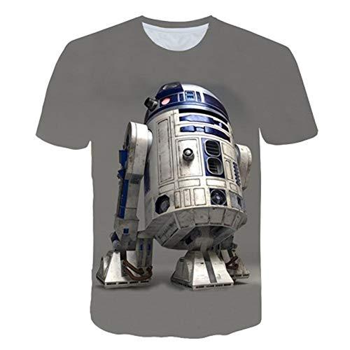 CXKNP New Harajuku Herren T-Shirt Bedrucktes 3D T-Shirt Herren/Damen T-Shirt Street Style Hip Hop T-Shirt Lässiges Top