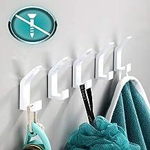 5 Piezas Ganchos Adhesivos Para Pared, Perchas Baño, Gancho Pared, Ganchos Adhesivos, Colgadores Adhesivos, Ganchos para C...