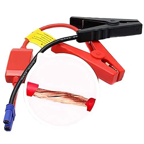 Con Conector EC5 Conector Conector de emergencia Cable de salto Cable de la batería CLIP DE LAS ARRUCCIONES PARA CAMIONES DE COCHES JUST STARTER STARTER CLÍTULO DE CUCHO (Color : Red)