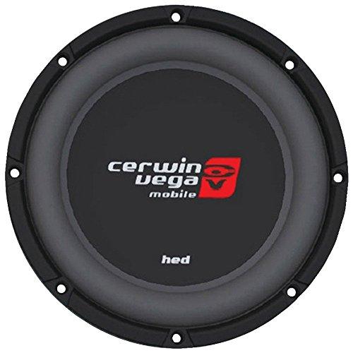 "Cerwin-Vega HS124D Hed Dvc Shallow Subwoofer (12"", 4ohm), Black"