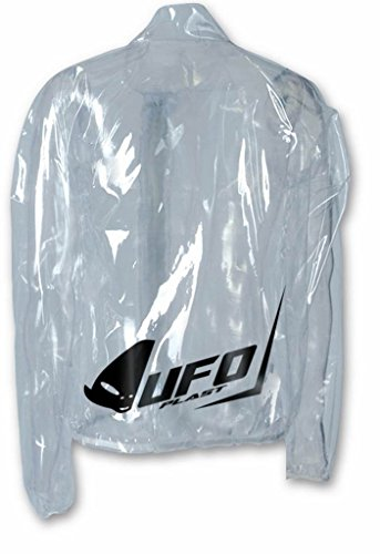 UFO Giacca impermeabile trasparente termicamente sigillata GC04140