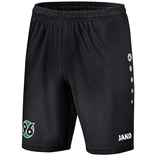 JAKO Herren Hannover 96 Short Heim 2018/2019, schwarz/Weiß, L-50