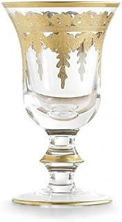 Arte Italica Vetro Gold Water/wine Glass