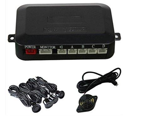 Haoyishang capteurs + Radar de stationnement + Caméra de recul + 10,9 cm TFT LED Voiture Rétroviseur moniteur LED Grand Rétroviseur Système de radar de recul de voiture