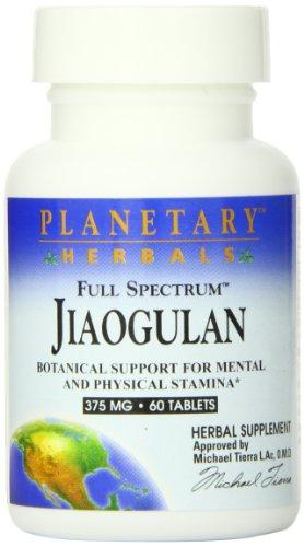 Full Spectrum Jiaogulan Planetary Herbals 60 Tabs