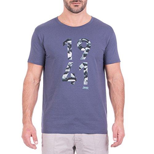 Jeep Messieurs 1941 de Stones j8s T-Shirt M Bleu foncé