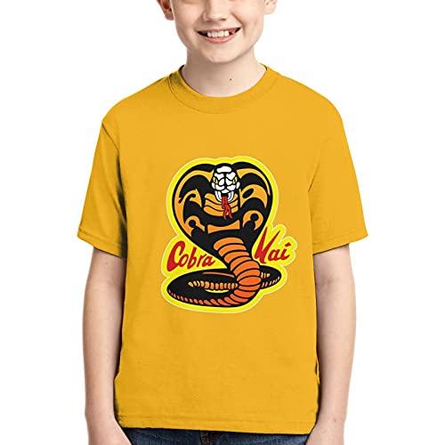 Co%Bra K&Ai Camisa De Manga Corta con Cuello Redondo De para Ni?o Camiseta Casual para Ni?a