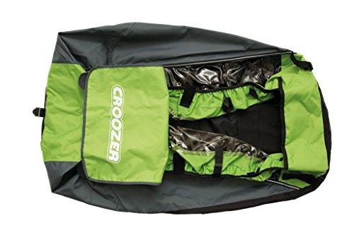 Croozer Unisex– Erwachsene Fahrradanhänger-3092022080 Fahrradanhänger, Green, One Size