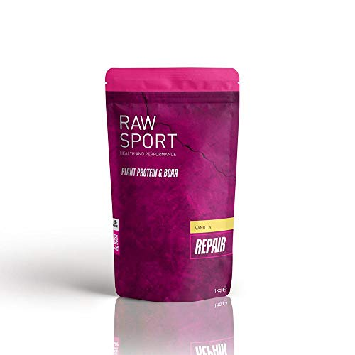 Raw Sport Vanilla Female Vegan Protein Powder with Added red maca-seabuckthor Berry-BCAA's and Digestive enzymes 924g
