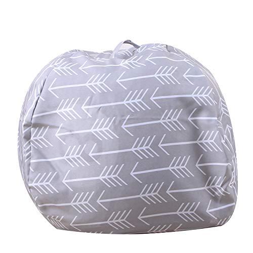 Plüschtier Aufbewahrungstasche, Stofftier Kuscheltiere Aufbewahrung Aufbewahrungstasche Sitzsack Kinder Soft Pouch Stoff Stuhl
