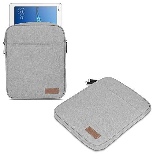 ASUS ZenPad 10 ZD301ML Z301ML Z301MFL Z300M Hülle Tasche Tablet Schutzhülle Schwarz Grau Cover Hülle, Farbe:Grau