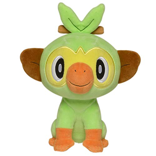 Pokèmon 8 Pulgadas de Felpa – Grookey, Color. (Wicked