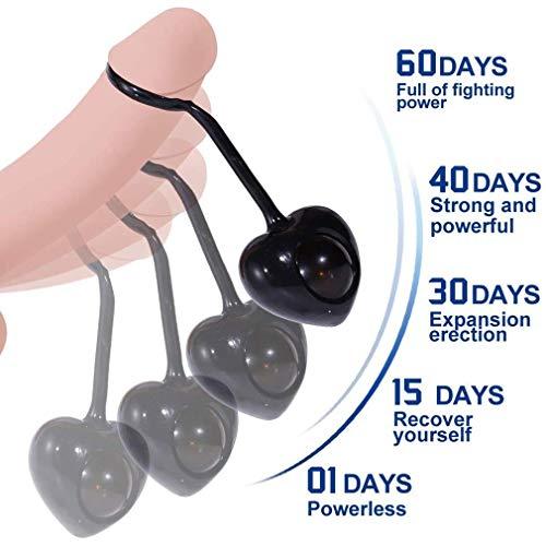 2020 New männlichen Penis Muskel Enhance Geräte Pennis Ausbildung Hantel, Delay beste Werkzeug Ein Trainingssatz und 4 Gewicht Bälle, über den ganzen Körper Deep Tissue Muskel-Therapie for den Mensche