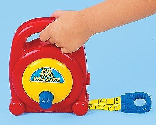 Precio al por mayor y calidad confiable. My First Craftsman Toy Tape Measure - amarillo amarillo amarillo   negro by rojo Box  descuento de ventas
