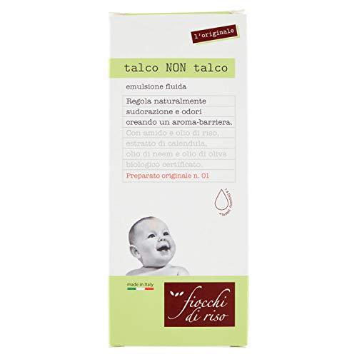 Fiocchi di Riso Talco Non Talco, Emulsione fluida, 120 ml