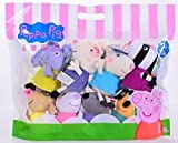 Gather together 8pcs/Lot 19cm Genuine Peppa Pig Classmates Plush Pig Toys For Children's Cartoon Doll Gift
