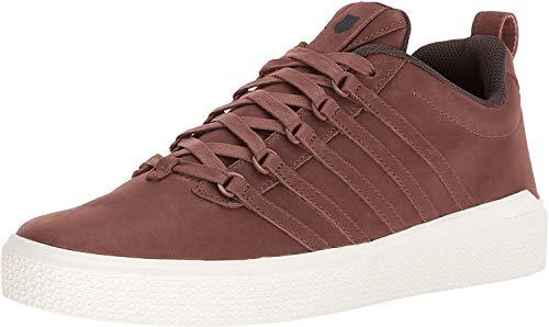 K-Swiss Herren DONOVAN P Niedrige Sneakers Rot (Tortoise Shell/Chocolate 279) 41 EU