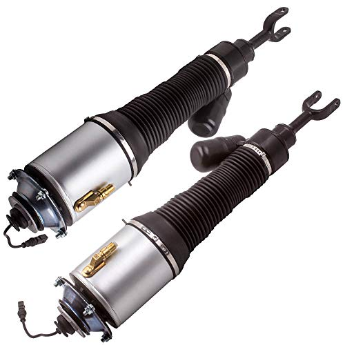 maXpeedingrods Pair Front Air Shock Absorber for Bentley Continental GT for VW Phaeton 2003-2012 Air Suspension Strut 3D0616039 3D0616040