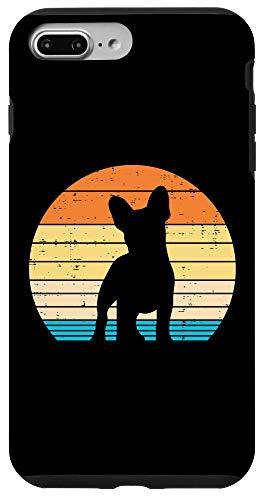 iPhone 7 Plus/8 Plus French Bulldog Sunset Retro Frenchie Dog Lover Owner Gift Case