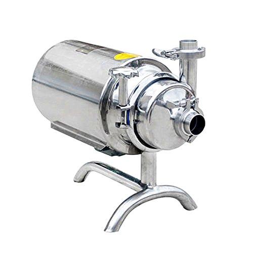 MXBAOHENG Bomba sanitaria de acero inoxidable bomba de suministro de leche de bebida sanitaria 3T 110V o 220V (110V)