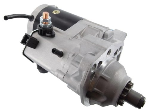 Discount Starter & Alternator Replacement New Starter For John Deere, Backhoe Loader, Combine, Cotton Picker, Crawler, Feller Buncher, Harvester, Log Loader, Skidder, Farm Tractor, Windrower 4995, Marine Engines, 12 Volts, 4 kW
