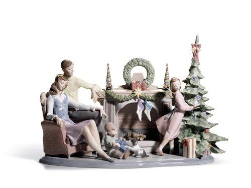 LLADRÓ Porcelain Figurine una Familia Navidad edición Limitada