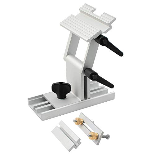 Adjustable Replacement Tool Rest Sharpening Jig for 6 inch or 8 inch Bench Grinders and Sanders BG | Features Internal Lock Washers for Extra Platform Stability