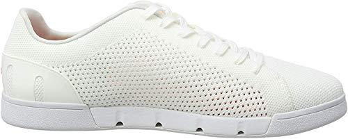 SWIMS Herren Breeze Tennis Knit Sneaker, Weiß (White 032), 45 EU