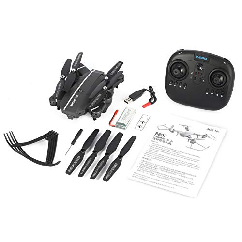 8807 2.4G FPV Foldable Drone Smart RC Quadcopter 4CH with Altitude Hold Headless Mode 360° Flip Led Light RTF VS XS809HW
