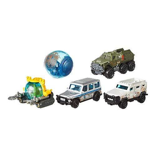 Jurassic World Set Completo de 5 Modelos Diecast en Escala 164 Mattel Matchbox