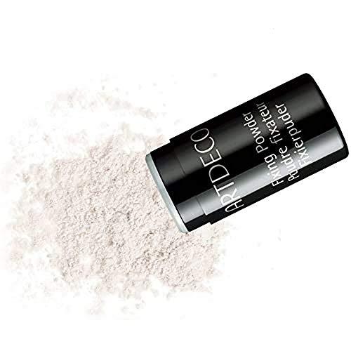 ARTDECO Fixing Powder Caster - Makeup Fixierpuder transparent als praktischer Streuer - 1 x 10 g