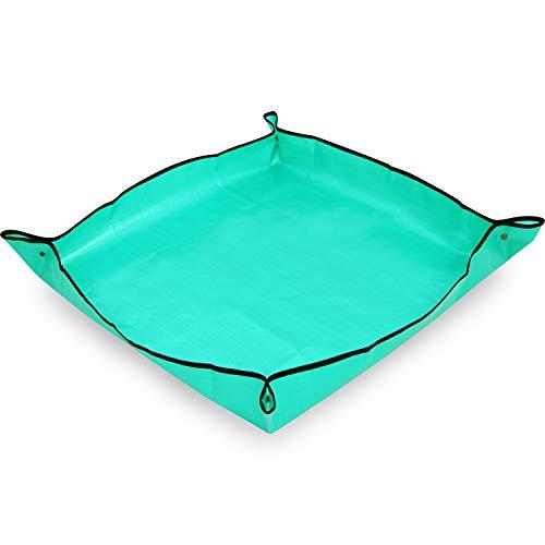 アストロ 園芸シート 大 グリーン ガーデニング プランティングシート 防水 汚れ防止 505-01
