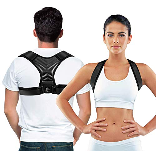 MARAKYM Posture Corrector – Adjustable Clavicle...
