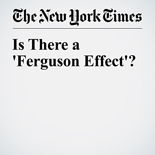 Is There a 'Ferguson Effect'? audiobook cover art
