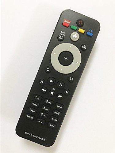 Replacement Remote Controller use for BDP2105 BDP2205 BDP3406 BDP2985/F BDP2100/F7 Philips DVD Blu-ray Player
