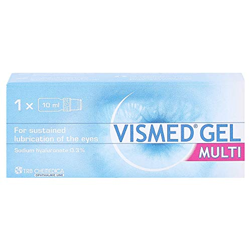 VISMED Multi Lubricating Eye Gel, 10 ml