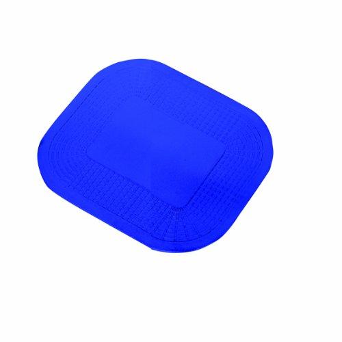 "Dycem 50-1590B Non-Slip Rectangular Pad, 7-1/4"" x 10"", Blue"