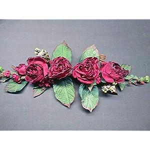 Gorgeous Dried Look Rose Swags. Silk Flowers Arrangements. 23 in Long by About 11 in Wide – Artificial Flowers #FWB01YN
