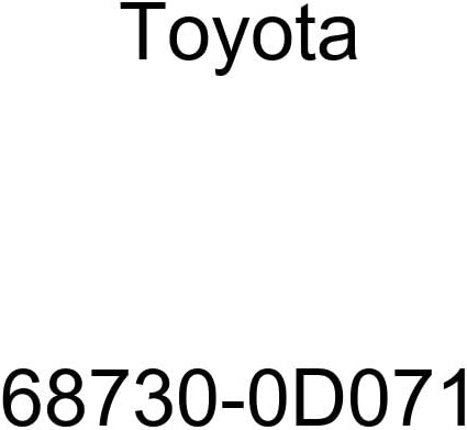TOYOTA 68730-0D071 Direct sale of manufacturer Door Hinge Max 89% OFF Assembly