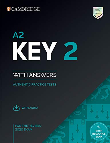 A2 Key 2. Practice Tests with Answers and Audio.: Authentic Practice Tests: Vol. 2