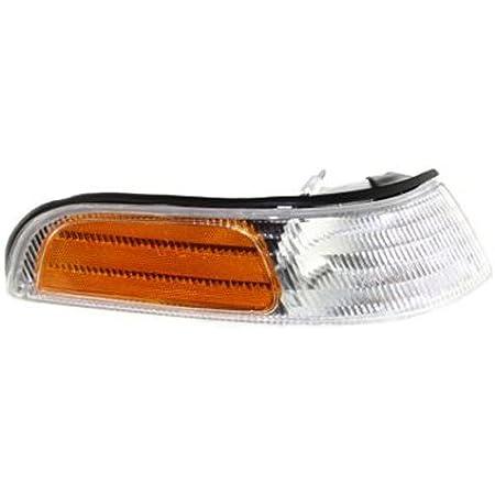 Crash Parts Plus Driver Side DOT//SAE Corner Light for 92-97 Ford Crown Victoria FO2520124