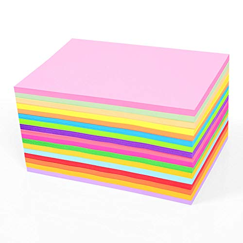 SHOUJIKE Papel de Copia en Color A4 Papel de impresión multifunción-a3