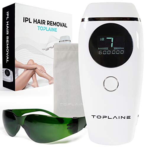 Laser Hair Removal - Permanent Hair Removal for Women - DIY at Home - Leg, Eyebrow, Face, Underarm, Full Body Hair Removal Device & skin treatment - 600,000 IPL Handset Permanent Remover System