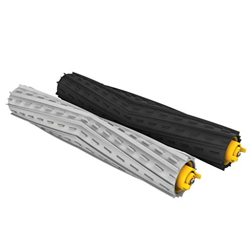 iRobot Authentic Replacement Parts- Roomba 800 & 900 Series Multi-Surface Rubber Brushes (1 Set of Multi-Surface Rubber Brushes)