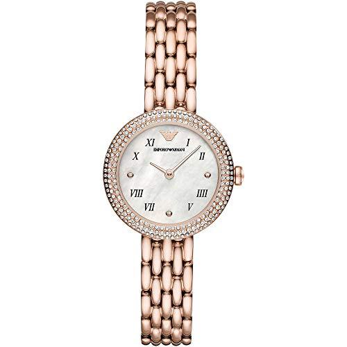Emporio Armani - Reloj solo tiempo para mujer, estilo informal, cód. AR11355